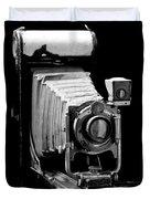 Canadian Kodak Black And White Camera Duvet Cover