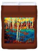 Canadian  Landscape Artist Carole Spandau Duvet Cover