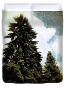 Canadian Pines Duvet Cover