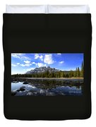 Canadian Rockies 8 Duvet Cover
