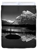 Canadian Rockies Duvet Cover