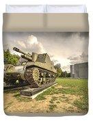 Canadian Tank  Duvet Cover