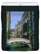 Canal Bridges Duvet Cover