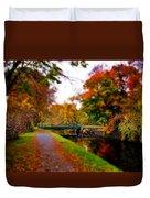 Canal Dream Duvet Cover