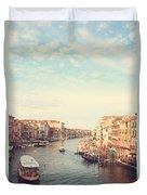 Canal Grande In Venezia Duvet Cover