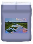 Canal In The Glades Duvet Cover