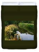 Canal Reflections Duvet Cover