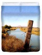 Canal View  Mesilla Duvet Cover