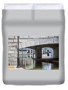 Canal Walk Duvet Cover