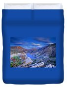 Canales Lake Duvet Cover