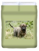 Canary Dog Puppy Duvet Cover