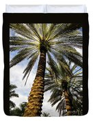 Canary Island Date Palms				 Duvet Cover