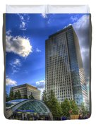 Canary Wharf Station London Duvet Cover