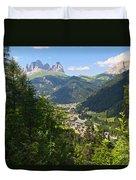 Canazei - Val Di Fassa Duvet Cover