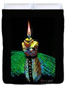Candle Bust Duvet Cover