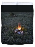 Candle Glow Duvet Cover