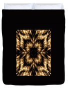 Candles Abstract 5 Duvet Cover