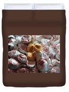 Candy - Peanut Butter Kisses - Sweets Duvet Cover