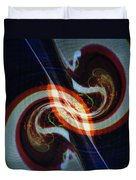 Candy Cane Swirl Duvet Cover