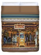 Candy Shop Main Street Disneyland 01 Duvet Cover