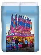 Candy Shoppe Line Art Duvet Cover