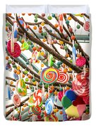Candy Tree Duvet Cover