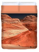 Candyland Canyons Duvet Cover