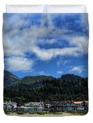 Cannon Beach South Duvet Cover
