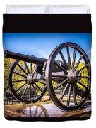 Cannon In New Orleans Washington Artillery Park Duvet Cover