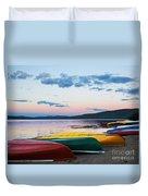 Canoe Colourama Duvet Cover