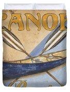 Canoe Rentals Duvet Cover