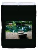 Canoeing Duvet Cover