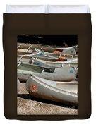 Canoes 143 Duvet Cover