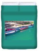 Canoes 3 Duvet Cover