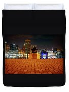 Canon View Of The City Duvet Cover