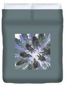 Daytime Jungle Sky By Jammer Duvet Cover