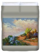 Canterbury Bells Joshua Tree Duvet Cover