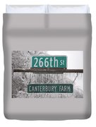 Canterbury Ice Duvet Cover