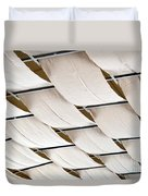 Canvas Ceiling Detail Duvet Cover
