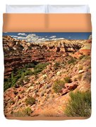 Canyon At Calf Creek Duvet Cover