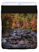 Canyon Color Rushing Waters Duvet Cover