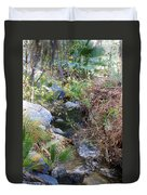 Canyon Creek Duvet Cover