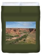 Canyon De Chelly Overview Duvet Cover