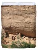 Canyon De Chelly Ruins Duvet Cover