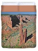 Canyon De Chelly - Spider Rock Duvet Cover