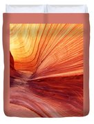 Canyon Kissed By The Sun Duvet Cover
