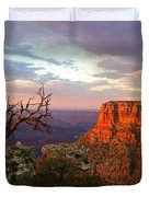 Canyon Rim Tree Duvet Cover