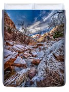 Canyon Stream Winterized Duvet Cover