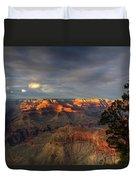 Canyon Sunset Duvet Cover