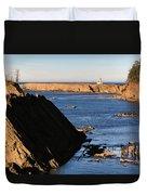 Cape Arago Lighthouse 2 Duvet Cover